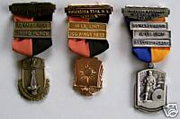 1970s Marksman Shooting Award Medal Lot - Black Powder?